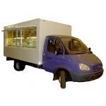 Фургон автомагазин на длиннобазную газель